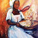 Winnowing Malawi Lady by Shirlroma