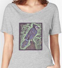 Steller's Jay  Women's Relaxed Fit T-Shirt