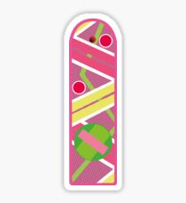 Hoverboard Flat Sticker