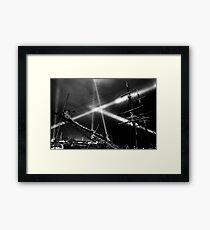 Dark Mofo 2014 - Articulated intersect  Framed Print