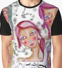 White softness Graphic T-Shirt