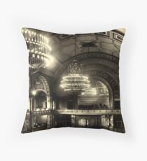 Marble Hall, Berlin Zoo Throw Pillow