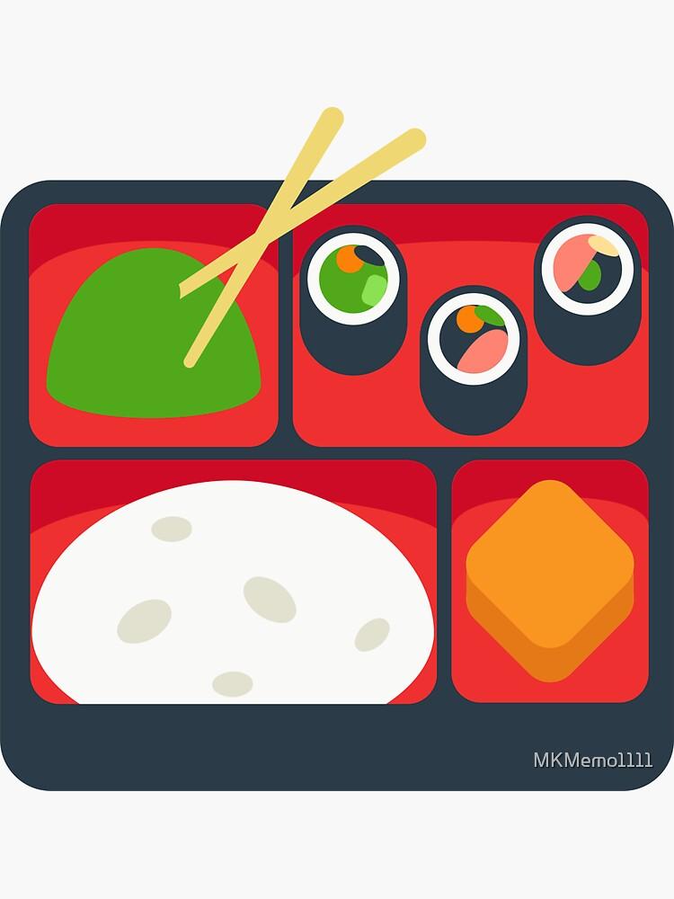 Bento Box Lunch Box Gift for Bento Box Lover by MKMemo1111