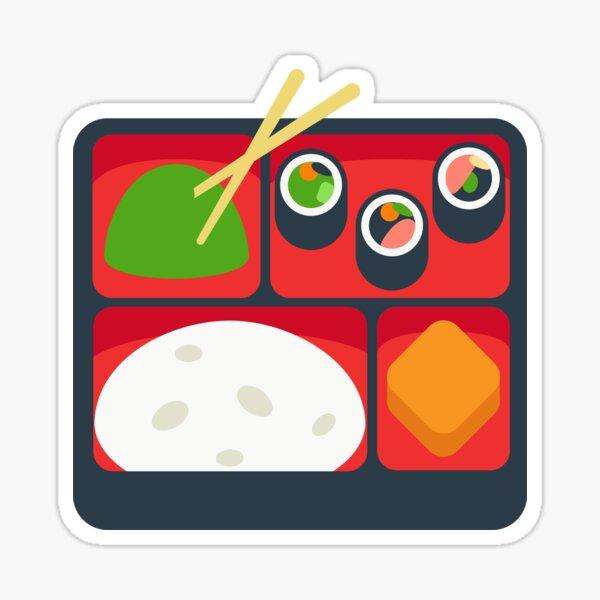 Bento Box Lunch Box Gift for Bento Box Lover Sticker