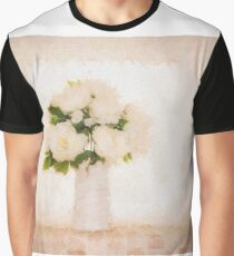 Hi key picture of white flowers Graphic T-Shirt