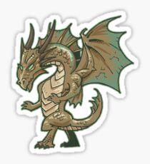 Bronze Dragon Sticker