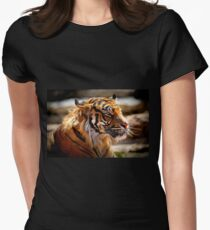 Tigger Womens Fitted T-Shirt