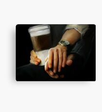 coffee and comfort Canvas Print