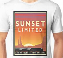 Vintage poster - Sunset Limited Unisex T-Shirt
