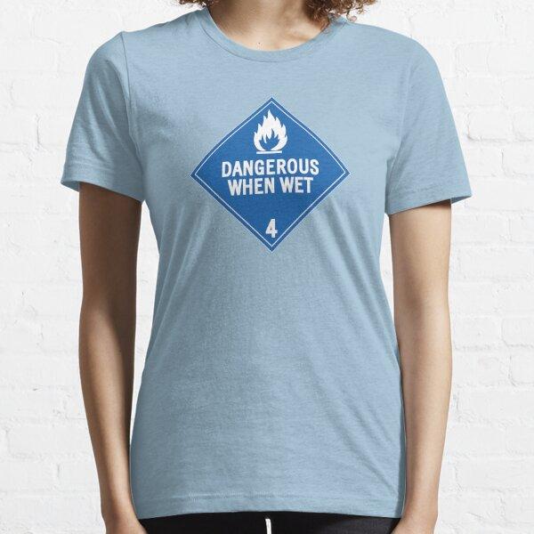 HAZMAT 4.3 Dangerous when Wet Essential T-Shirt