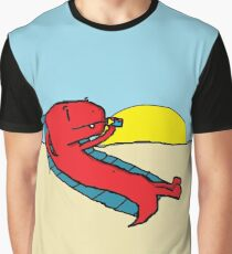 Sunset Sizzlin' Fartosauros Graphic T-Shirt
