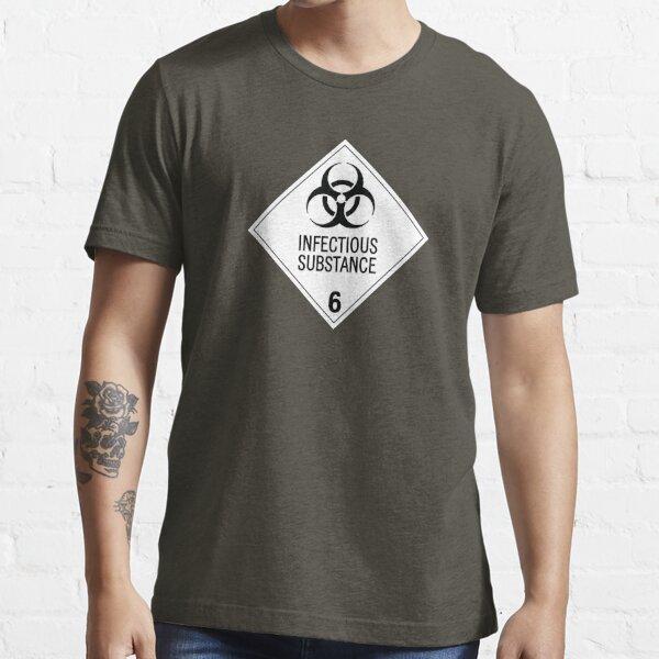 HAZMAT Class 6.2: Biohazard Essential T-Shirt
