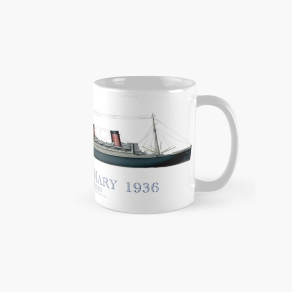 RMS Queen Mary 1936 - tony fernandes Classic Mug