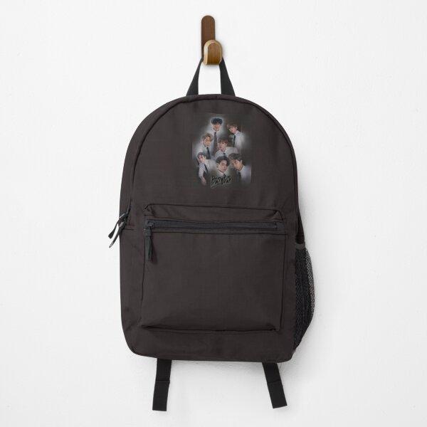 BTS brown design Backpack