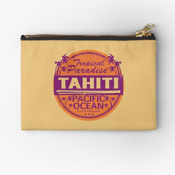 Tahiti Zipper Pouch