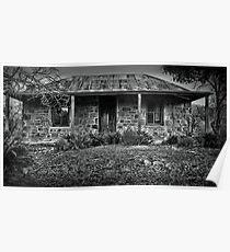 Denman's Cottage - Hill End NSW Australia Poster