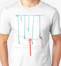 Wire Wire Telephone Unisex T-Shirt