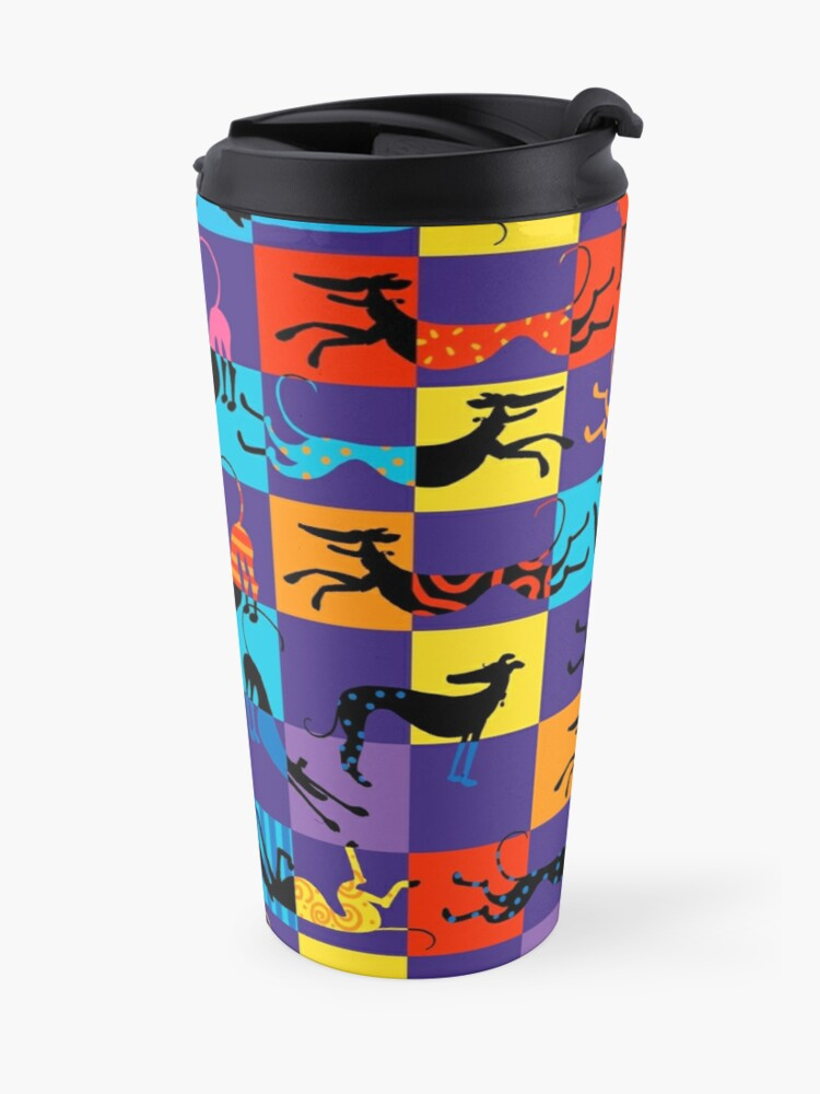 Alternate view of Pop Art Hounds Travel Mug