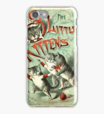 Ancient Three Little Kittens ART iPhone Case/Skin