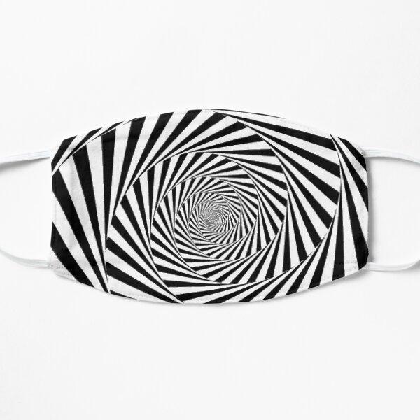 #Op art, #Art movement, #Optical #illusion Flat Mask