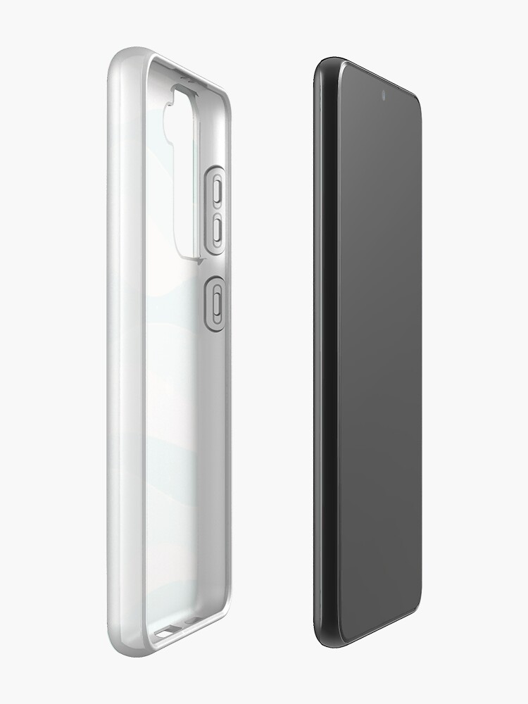 Alternate view of Cool waves Case & Skin for Samsung Galaxy