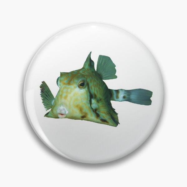 Kofferfisch | Niedlicher Fisch zum Knutschen |  Button