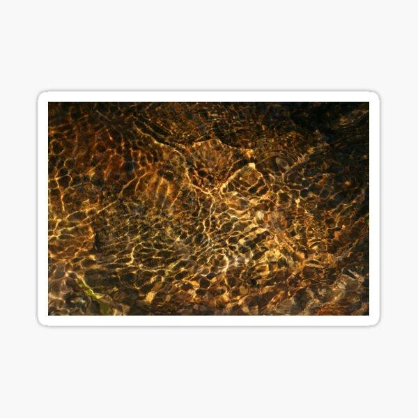 Nature's Water Art -1 Sticker