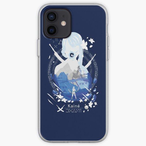 Kainé negative space iPhone Soft Case