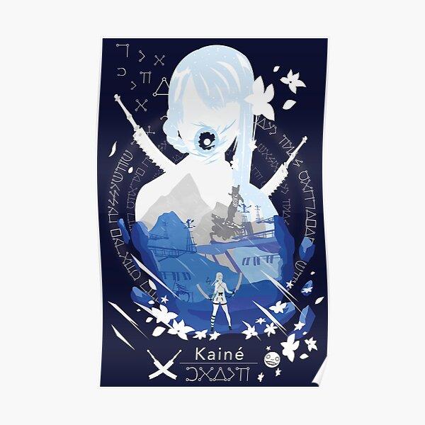 Kainé negative space Poster