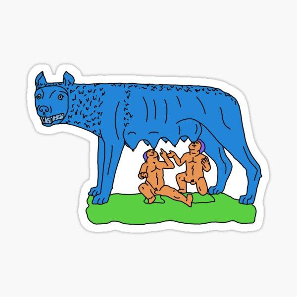 Lupa Sticker