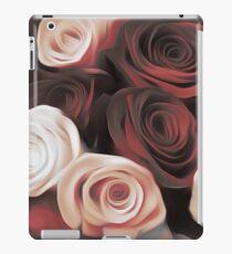 Blood Red & White Roses iPad Case/Skin