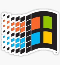 Pegatina Logotipo de Windows 95
