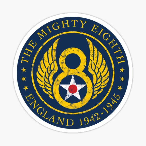 Mighty Eighth - 8th Air Force Sticker