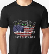 We The Cats Of The United States Dark T-Shirt