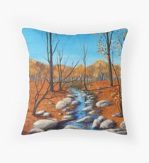 Cheerful Fall Throw Pillow