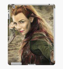 Tauriel Portrait- The Hobbit, Desolation of Smaug iPad Case/Skin