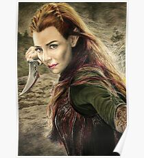 Tauriel Portrait- The Hobbit, Desolation of Smaug Poster