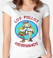 Los Pollos Hermanos Women's Fitted Scoop T-Shirt