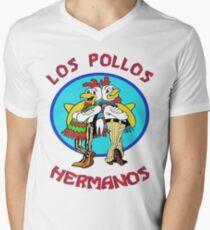 Los Pollos Hermanos Men's V-Neck T-Shirt