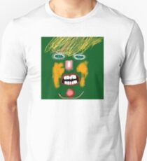 Green Donald Trump, by Roger Pickar, Goofy America T-Shirt