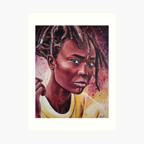 Black Godess Impression artistique