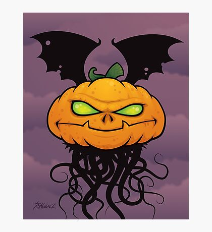 Punkin Monsta Photographic Print