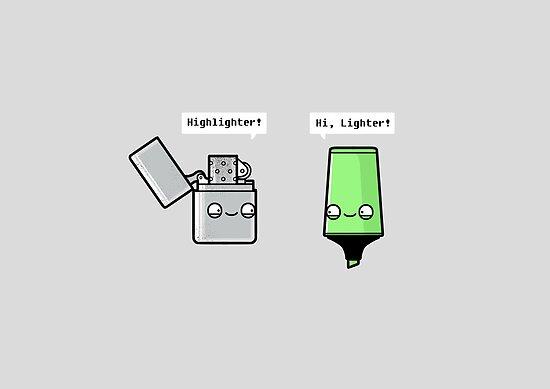 Highlighter by Randyotter
