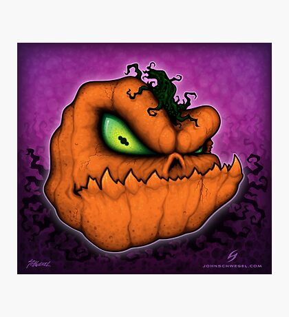 Punkin Head Photographic Print