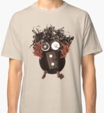 Analog Media Abstract Eco Art Silly Funny OMG LOL  Classic T-Shirt
