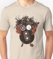 Analog Media Abstract Eco Art Silly Funny OMG LOL  T-Shirt