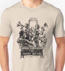 Liberation (black) Unisex T-Shirt