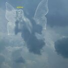 I Saw An Angel In The Sky by WildestArt