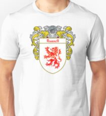 Russell Coat of Arms / Russell Family Crest T-Shirt