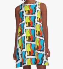 Abstract Art A-Line Dress
